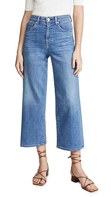 CQY Широкие укороченные джинсы Sunday