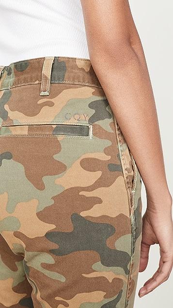 CQY Charm Minimalist 长裤