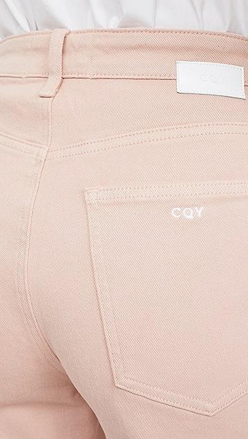 CQY Sunday 九分阔腿牛仔裤