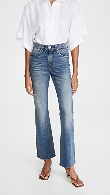 CQY Bliss High Rise Bootcut Jeans