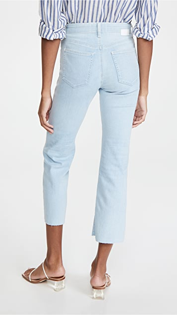 CQY Wes Bootcut Crop