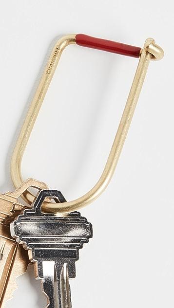Craighill Wilson Enameled Key Ring