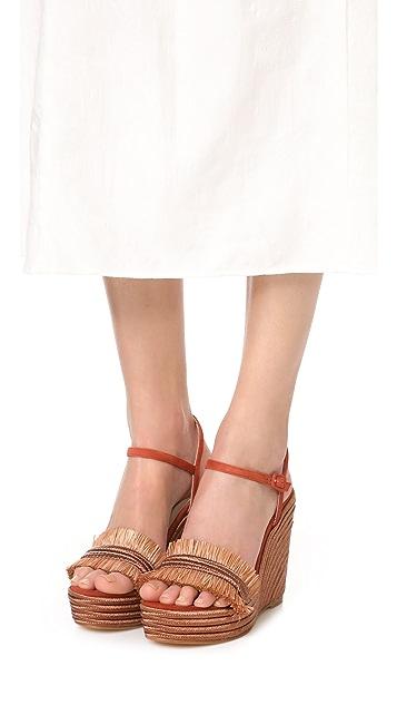 Carmelinas Mia Platform Sandals