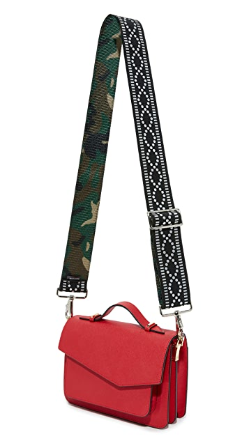 Carrie'd NYC Ryder Reversible Guitar Handbag Strap