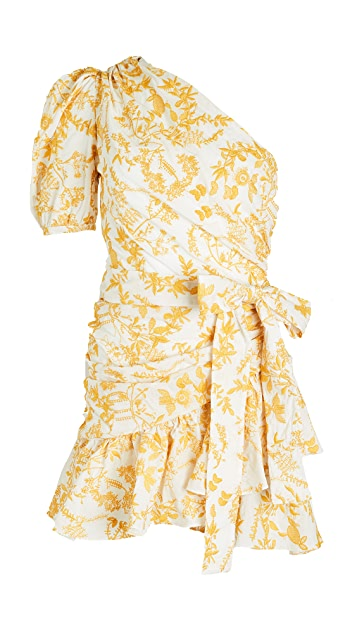 Charina Sarte Naomi One Shoulder Dress