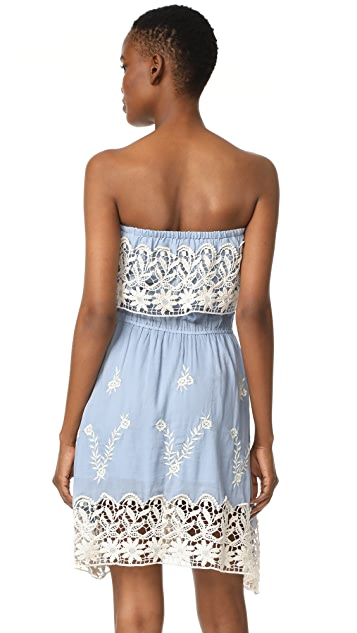 Christophe Sauvat Collection Acapulco Strapless Dress