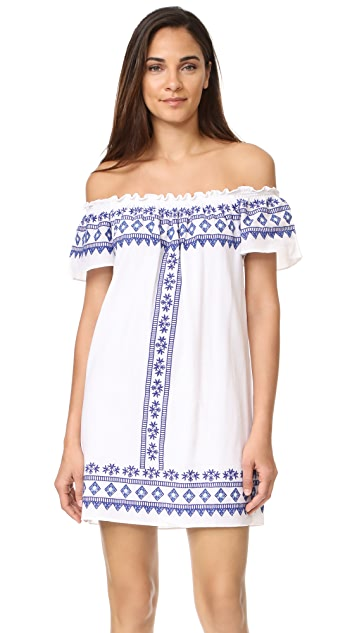 Christophe Sauvat Collection Comporta Off the Shoulder Dress