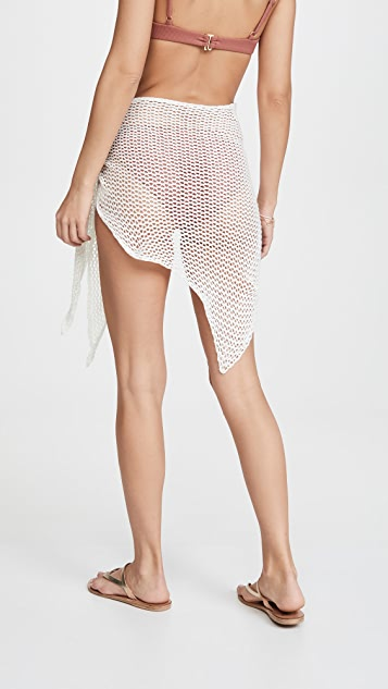 Capittana 钩针编织包布裙