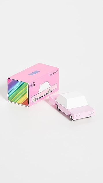 Candylab Toys Pink Sedan