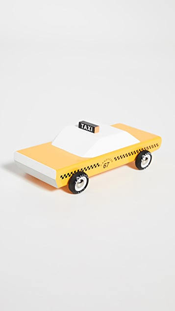 Candylab Toys Candycab Yellow Taxi