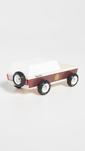 Candylab Toys Lone Sheriff Sheriff Truck