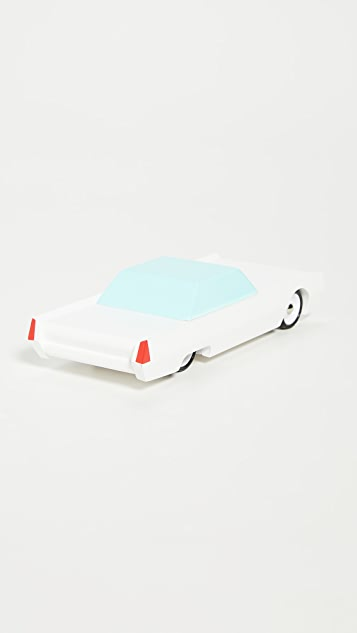 Candylab Toys White Beast Long White Sedan