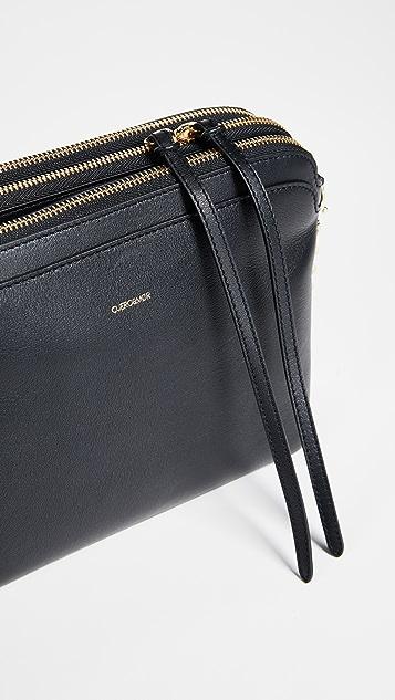 Cuero & Mor Marie Tri Zipper Chain Bag