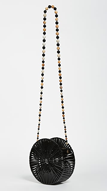 Cult Gaia Acrylic Luna Cross Body Bag
