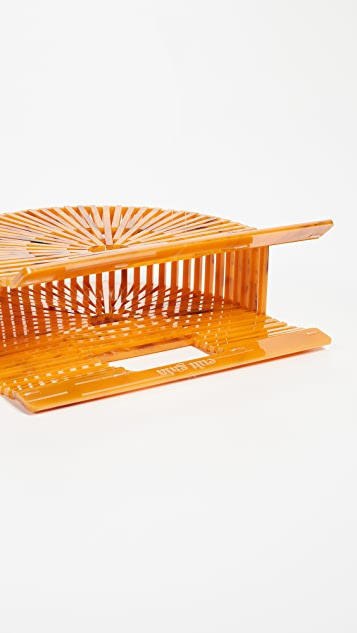 Cult Gaia Acrylic Ark Mini Clutch