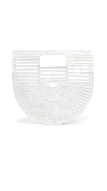 Cult Gaia Acrylic Ark Mini Clutch