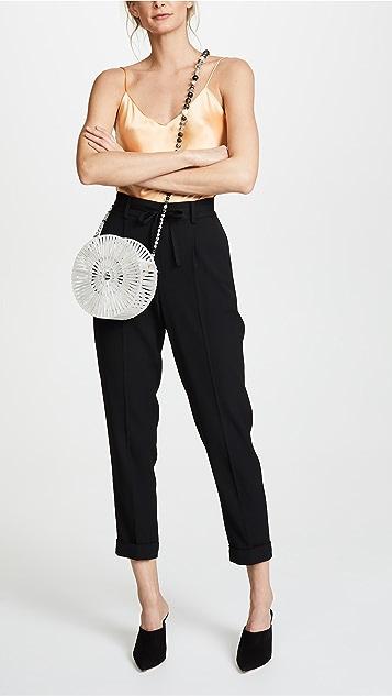 Cult Gaia Acrylic Luna Cross Body Bag