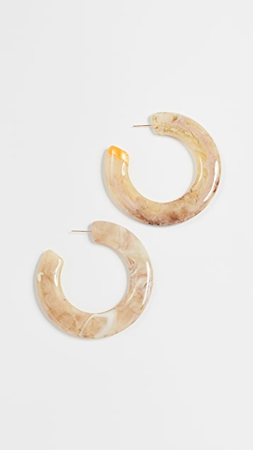Cult Gaia Kennedy Earrings - Sand