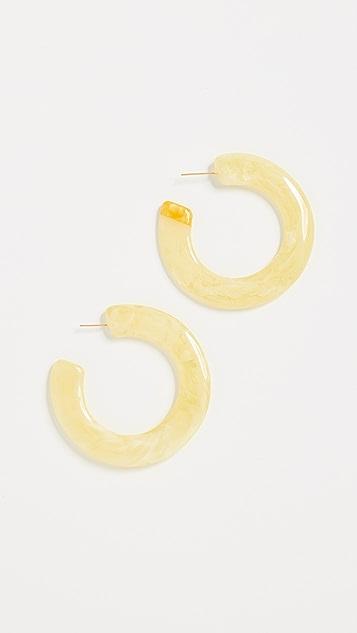 Cult Gaia Mira Earrings - Butter