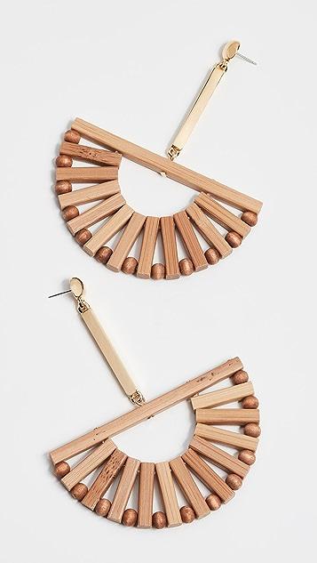 Cult Gaia Ark Earrings - Natural