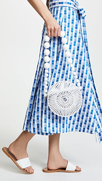 Cult Gaia Bamboo Luna Shoulder Bag