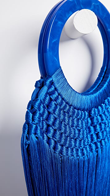 Cult Gaia Small Tassel Bag