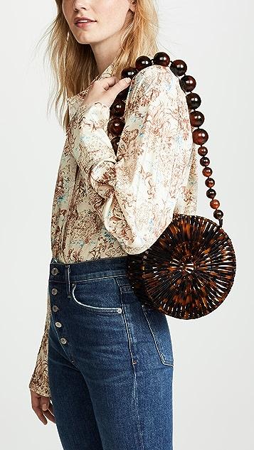 Cult Gaia Акриловая сумка через плечо Luna