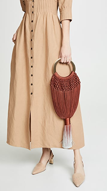 Cult Gaia Small Angelou Tassel Bag