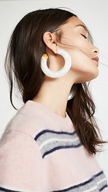 Cult Gaia Kennedy Earrings - Pearl