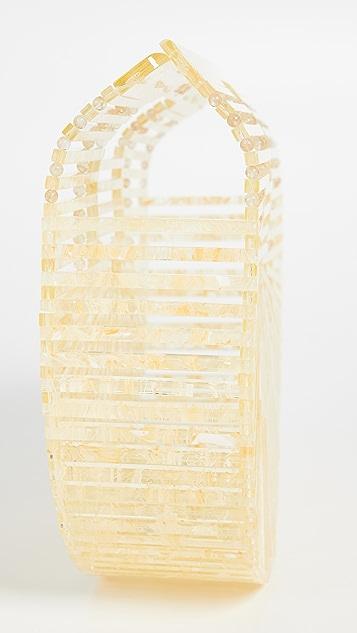 Cult Gaia Небольшая акриловая сумка Ark