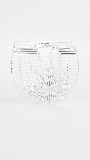 Cult Gaia Acrylic Ark Mini Bag - Clear