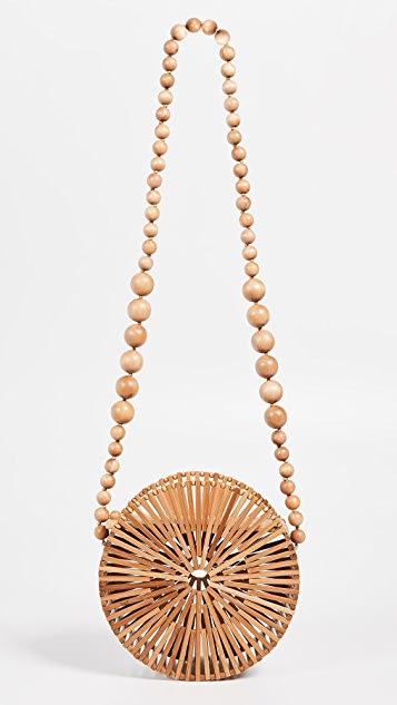 Cult Gaia Bamboo Luna Crossbody Bag