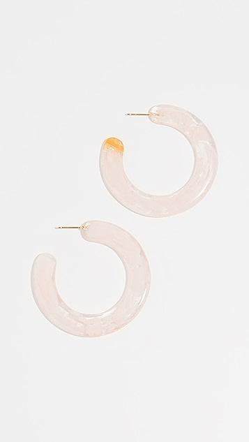 Cult Gaia Mira Earrings - Pink