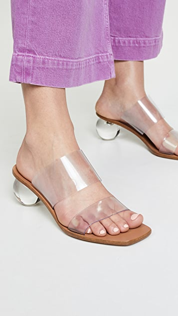 Cult Gaia Jila Heel Slides