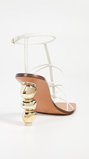 Cult Gaia Pietra 高跟凉鞋