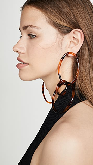 Cult Gaia Tria Earrings