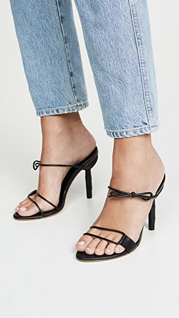 Cult Gaia Malia Heeled Sandals