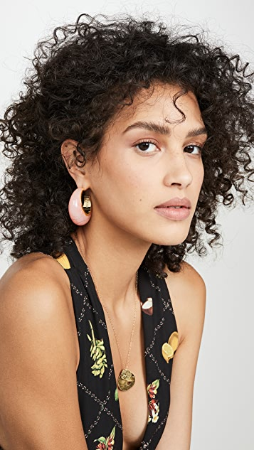 Cult Gaia Mona 圈式耳环