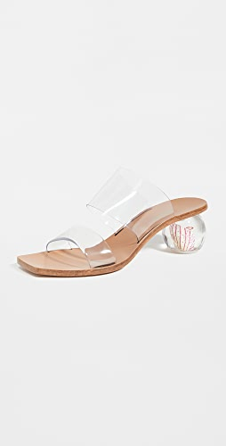 Cult Gaia - Jila Flower Heel Sandals