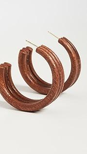 Cult Gaia Kaia 圈式耳环
