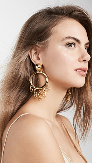 Cult Gaia Jasmin 垂式耳环