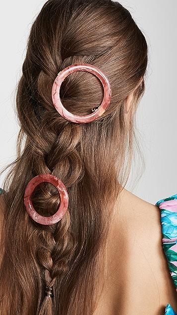 Cult Gaia Набор заколок для волос Ria