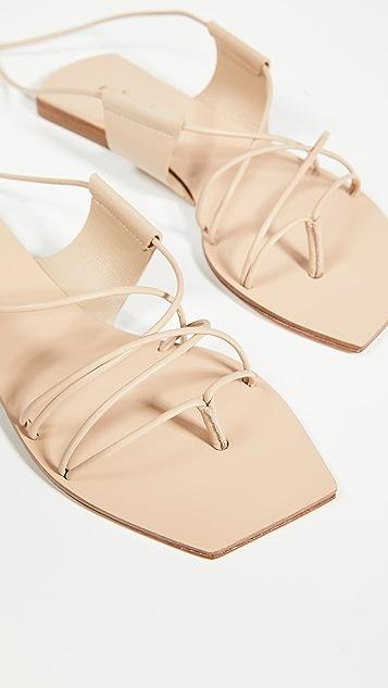 Cult Gaia Maria 系带凉鞋