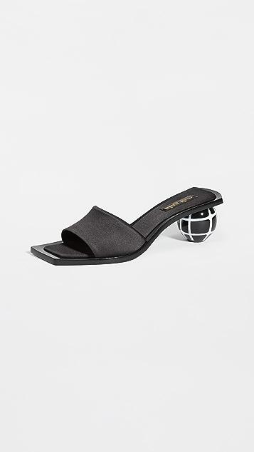 Cult Gaia Tao Grid Sandals