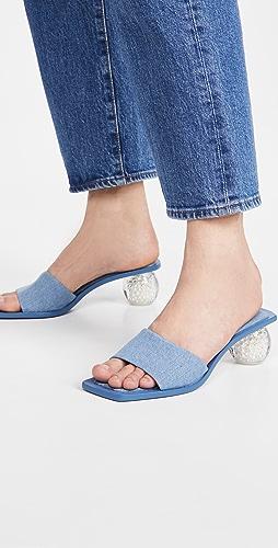 Cult Gaia - Tao 牛仔布凉鞋