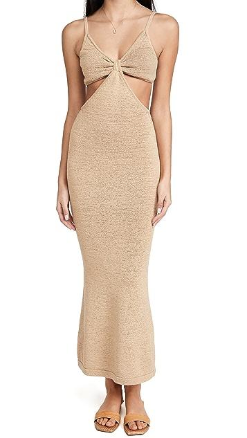 Cult Gaia Serita Knit Dress
