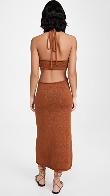 Cult Gaia Cameron 针织连衣裙