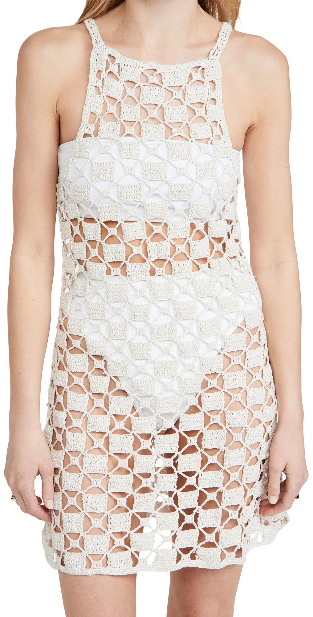 Cult Gaia Yara Knit Cover Up Dress