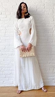 Cult Gaia Kamira 罩衫连衣裙