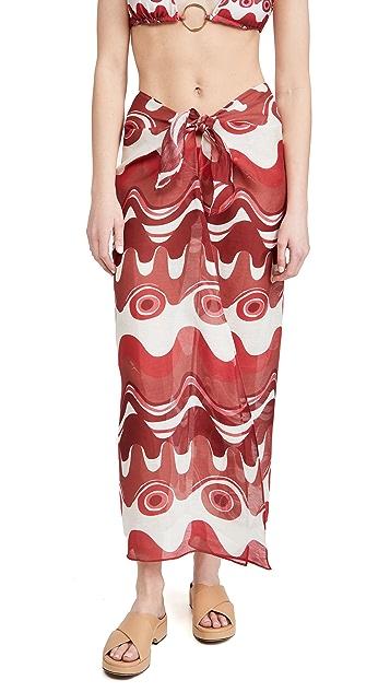 Cult Gaia Nila Cover Up Skirt